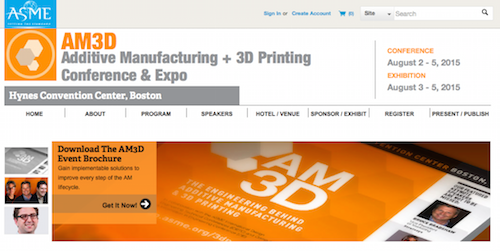 Additive Manufacturing + 3D Printing Conference & Expo