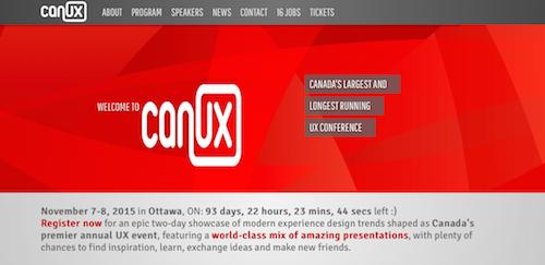CanUx 2015