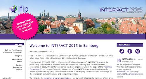 Interact 2015
