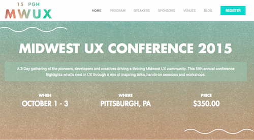 Midwest UX Conference 2015
