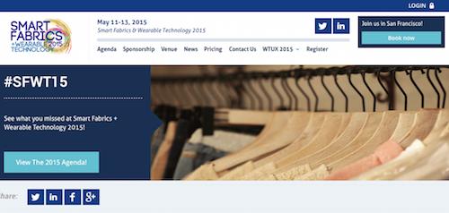 Smart Fabrics + Wearable Technology