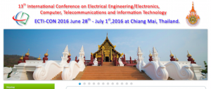 13th International Conference on Electrical Engineering Electronics Computer, Telecommunicaitons and Information Technology