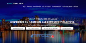 29th Annual IEEE Canadian Conference on Electrical and Computer Engineering
