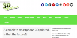 3D Printed Electronics Conference