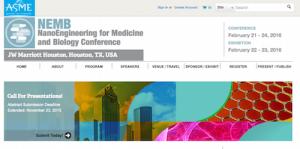 ASME NanoEngineering for Medicine and Biology NEMB Conference