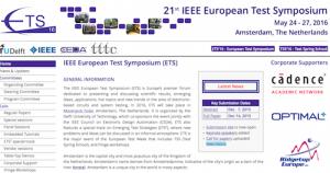 IEEE European Test Symposium ETS