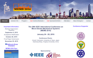 IEEE International Conference on Micro Electro Mechanical Systems MEMS
