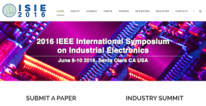 IEEE International Symposium on Industrial Electronics