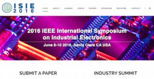 IEEE International Symposium on Industrial Electronics