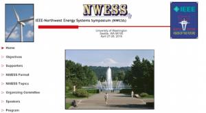 IEEE Northwest Engergy Systems Symposium NWESS