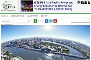IEEE PES Asia Pacific Power and Energy Engineering Conference IEEE PES APPEEC