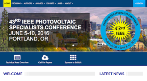 IEEE Photovoltaic Specialists Conference PVSC