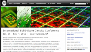 International Solid State Circuits Conference ISSCC