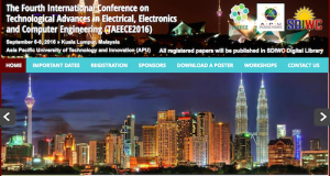 Technological Advances in Electrical Electronics and Computer Engineering TAEECE2016