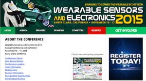 Wearable Sensors and Electronics 2015