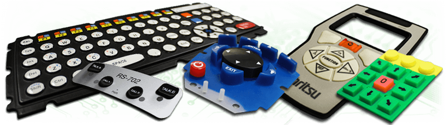 Rubber keypads by Pannam, the silicone keypad manufacturer