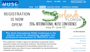 2016 International MUSE Conference