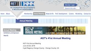 AGT Annual Meeting 2016