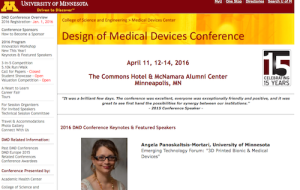 Design of Medical Devices Conference