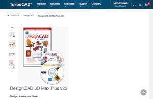 DesignCAD 3D Max Plus v25
