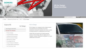 Siemens NX for Design