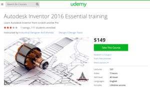 Autodesk Inventor 2016 Essential Training