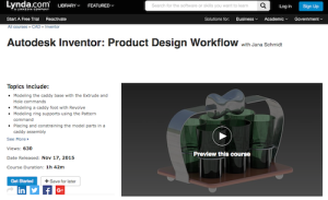 Autodesk Inventor Product Design Workflow with Jana Schmidt