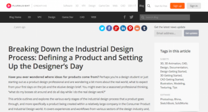 Breaking Down the Industrial Design Process Defining a Product and Setting Up the Designers Day