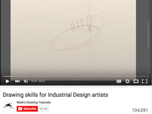 Drawing Skills for Industrial Design Artists