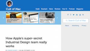 How Apples SuperSecret Industrial Design Team Really Works