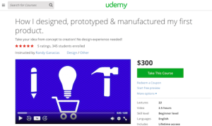 How I Designed Prototyped and Manufactured My First Product