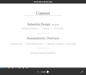 Industrial Design Presentation