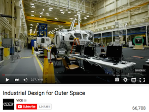 Industrial Design for Outer Space