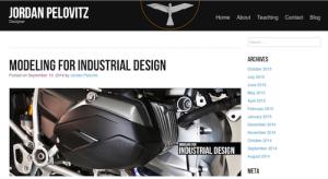 Modeling for Industrial Design