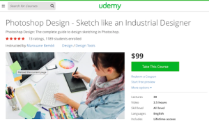 Photoshop Design Sketch Like an Industrial Designer