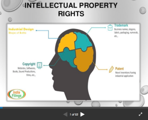 Presentation on Patents Trademark and Industrial Design