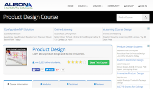 Product Design Course