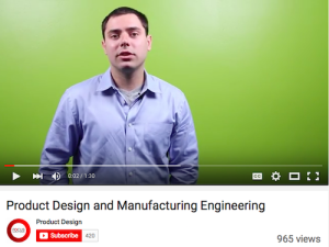 Product Design and Manufacturing Engineeering