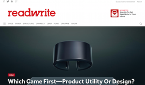 Which Came First Product Utility or Design