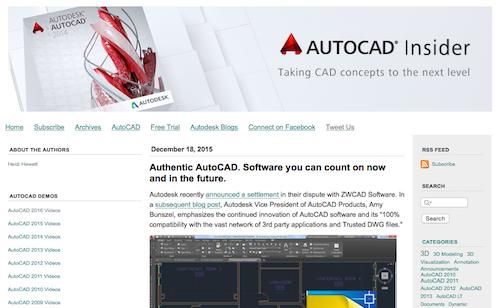 AutoCAD Insider