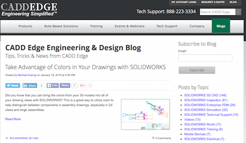 CADD Edge Engineering and Design Blog