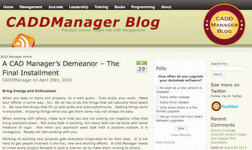CADDManager Blog