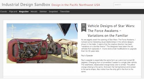 Industrial Design Sandbox