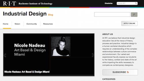 RIT Industrial Design Blog