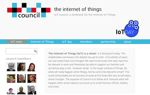 The Internet of Things Council Blog