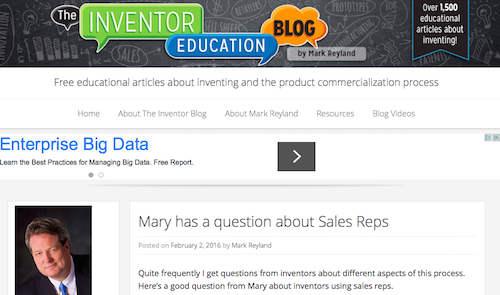The Inventor Education Blog