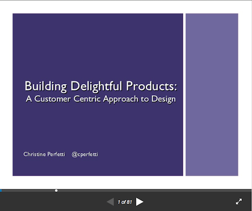 Building Delightful Products A Customer Centric Approach to Design