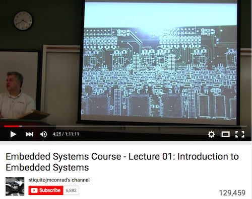 Embedded Systems Course Lecture 01 Introduction to Embedded Systems