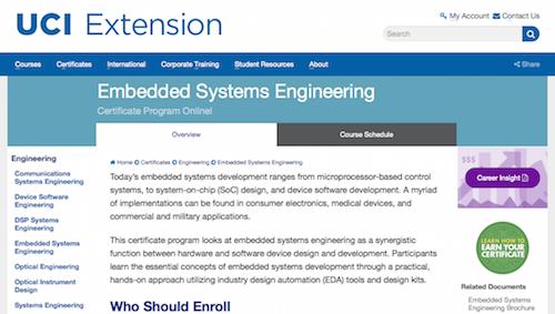 c program elements in embedded system divefile