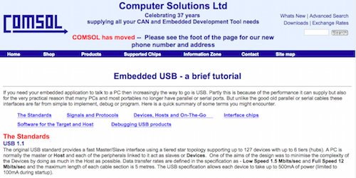 Embedded USB a brief tutorial